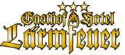 Logo - Das Motorradhotel im Odenwald - Gasthof Hotel Lärmfeuer - Pfalz