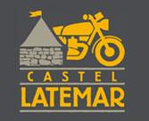 Das Motorradhotel in Südtirol - Castel Latemar - Logo - Dolomiten - Alpen